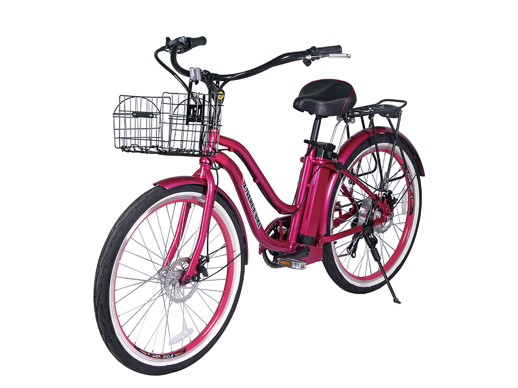 x-treme malibu beach cruiser bicycle pink