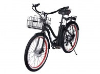 x-treme malibu beach cruiser bicycle black