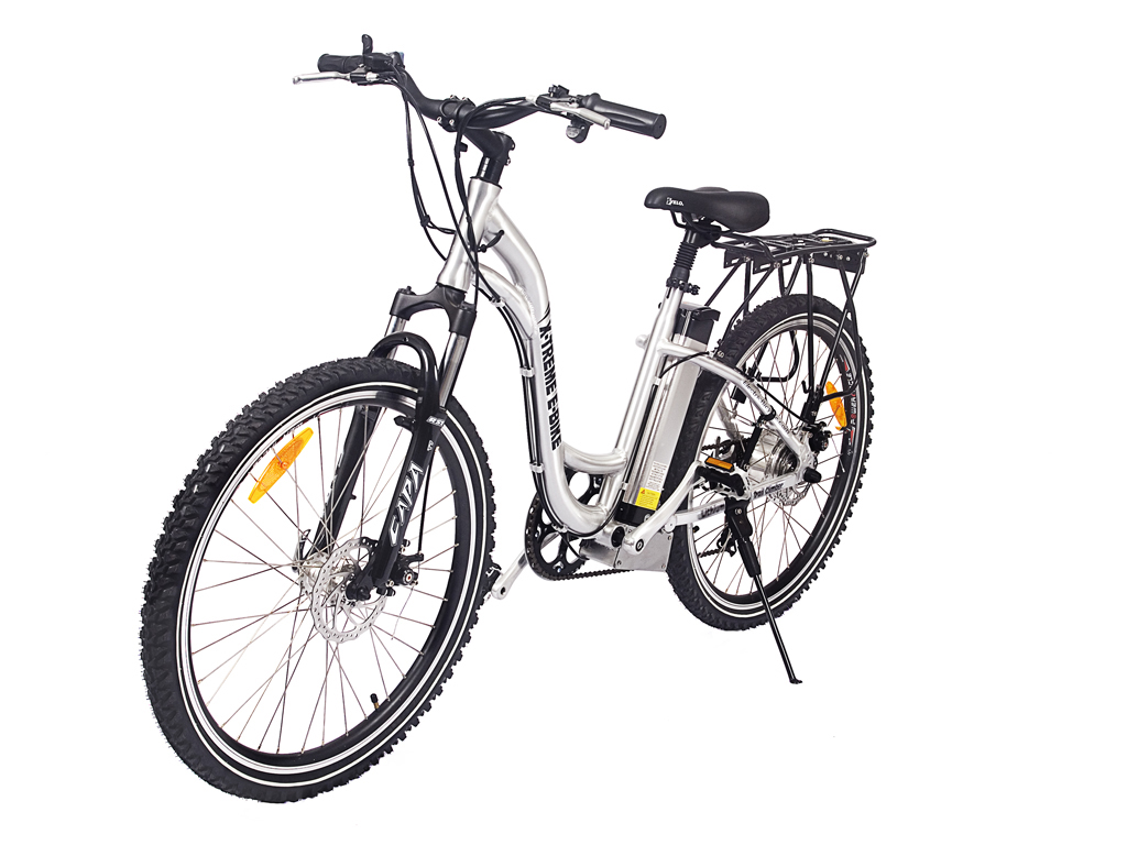 X-Treme Electric Powered Mountain Bicycle Aluminum