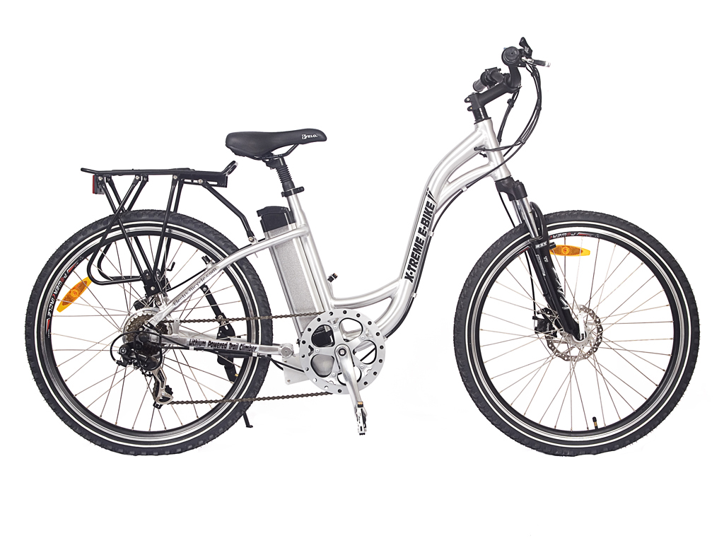 Battery Powered Electric Mountain Bike Aluminum