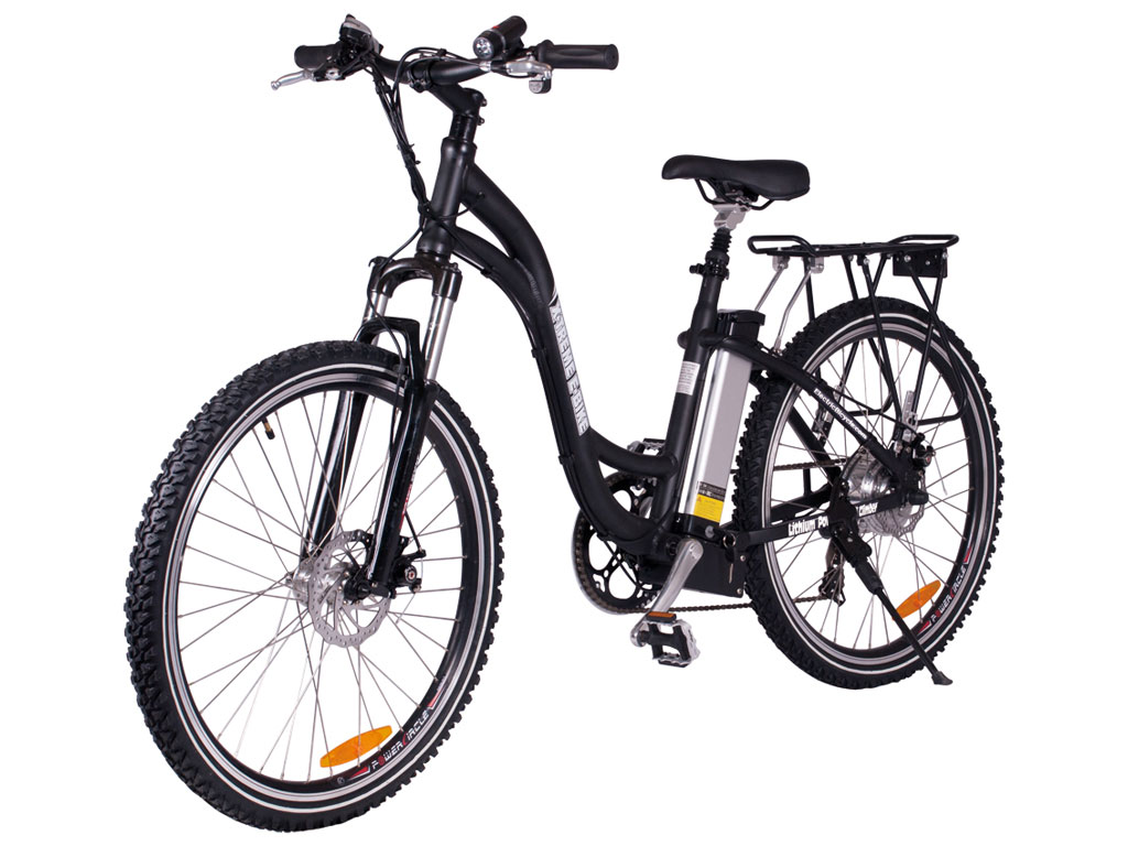 X-Treme Electric Powered Mountain Bicycle Black