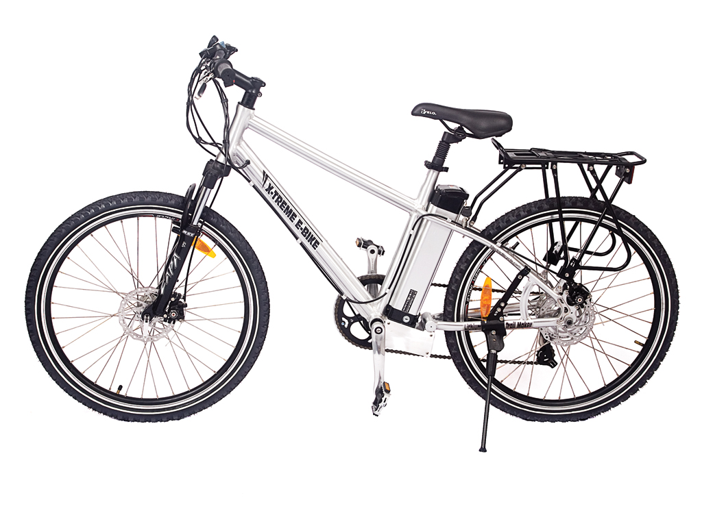 X-Treme Mens Electric Mountain Bicycle Aluminum