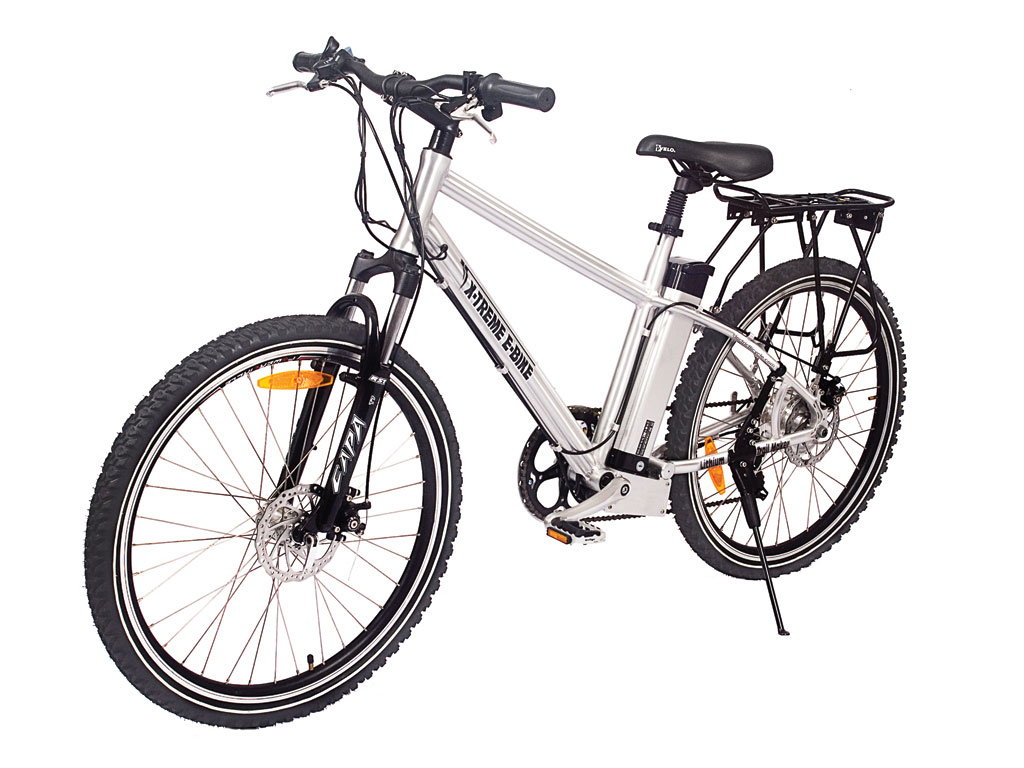 X-Treme Trail Maker Electric Mountain Bicycle Aluminum