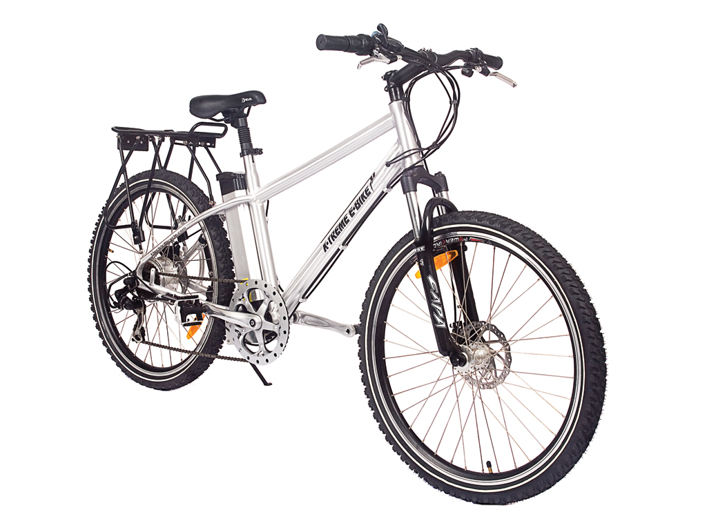 Battery Powered Electric Mountain Bicycle Aluminum