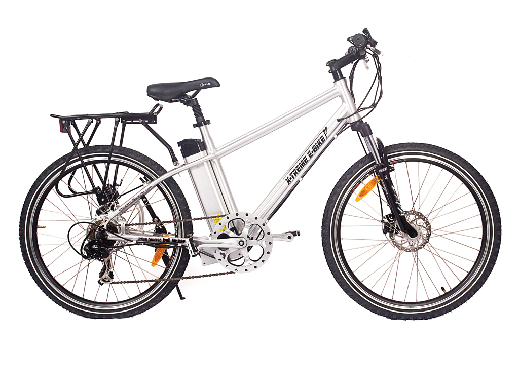 Mountain Bicycle Battery Powered Motor Aluminum