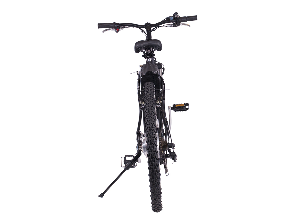 SLA powered assisted mountain bike black