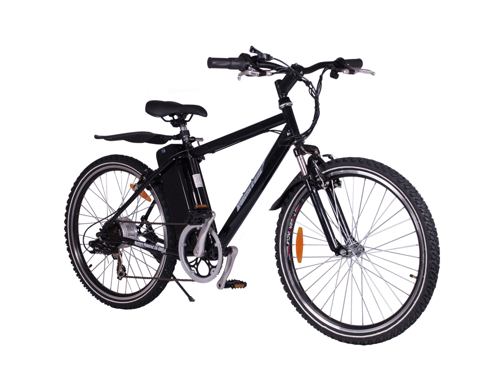 mountain bicycle battery SLA powered black