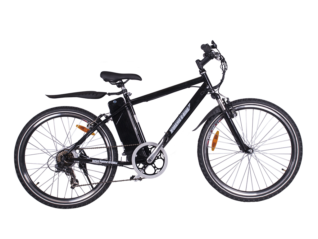 mens mountain bicycle alpine black