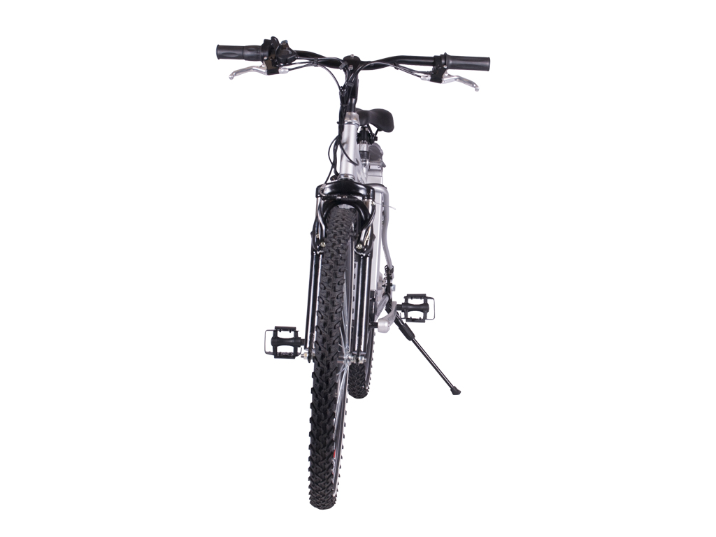 battery power assisted mountain bicycle aluminum