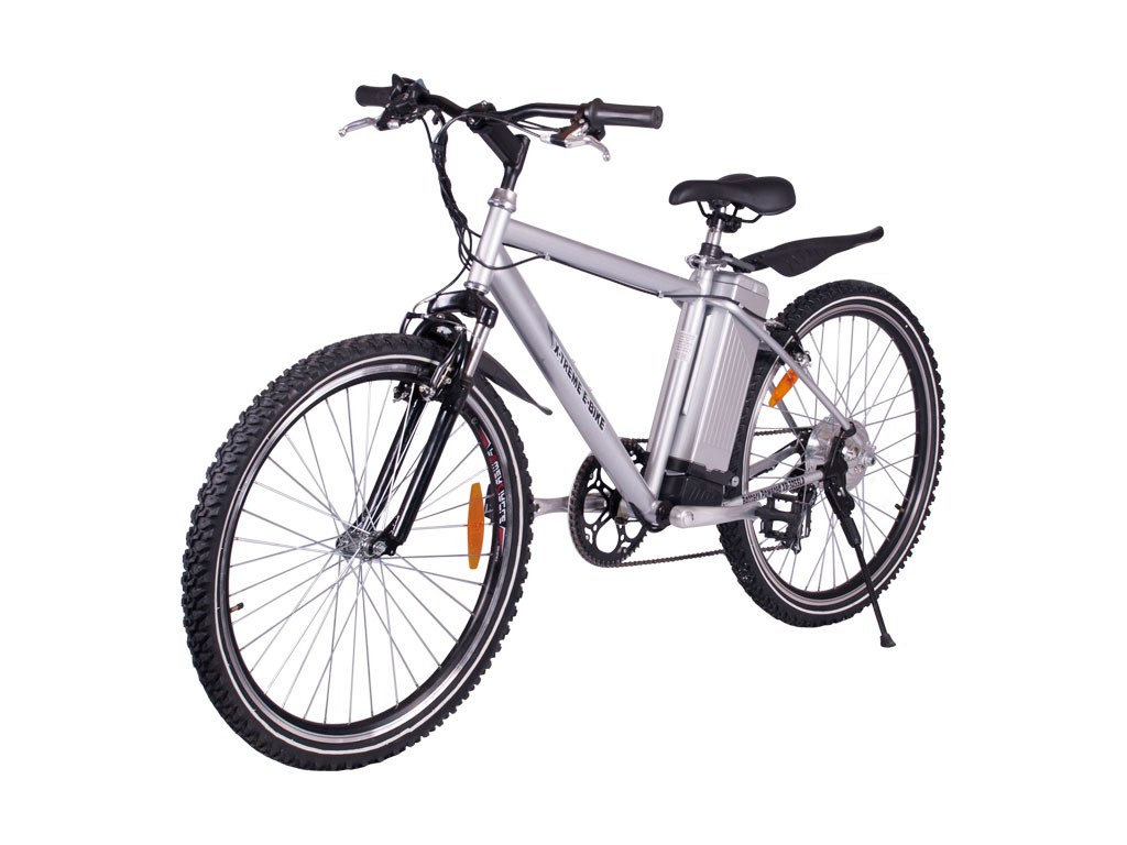 x-treme aluminum alpine mountain bicycle battery powered