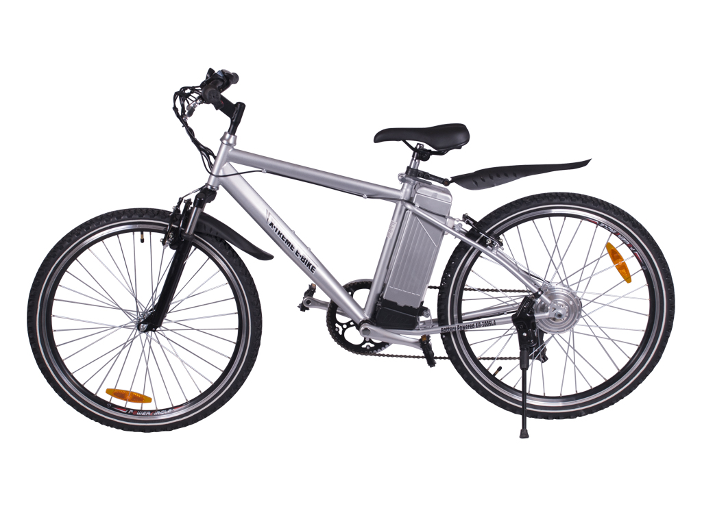 x-treme battery powered electric mountain bicycle aluminum