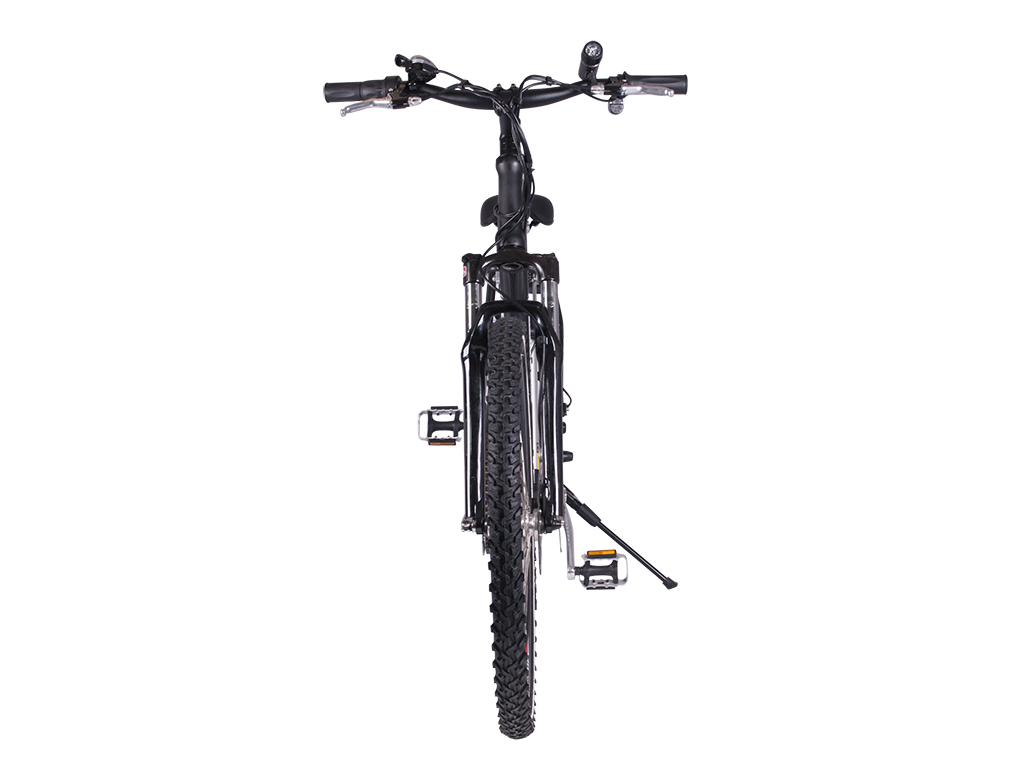 Womens electric mountain bike black